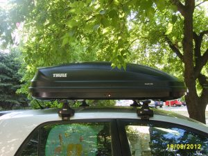 thule roof box pacific 200